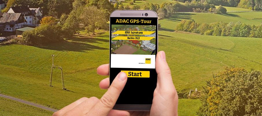 GPS-TOUR IM JUGENDCAMP HACHEN